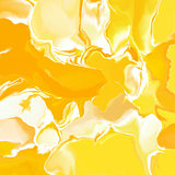 Sunny bright yellow marble background