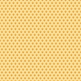 Realistic waffle seamless pattern. Waffles endless background. Repeating texture. Vector illustration.