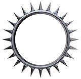 metal sun symbol