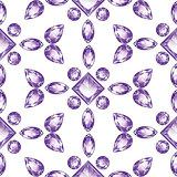 Shiny Violet Amethyst