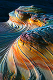 The Wave North Coyote Buttes has this Upper Second rock formation North Coyote Buttes in the Paria Canyon Vermilion Cliffs Wilderness of the Colorado Plateau Arizona