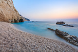 Porto Katsiki beach in Lefkada island, Greece