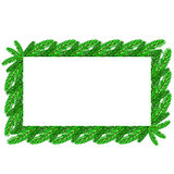 Restangular Christmas Floral Frame.