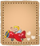 Cupid topic parchment 7