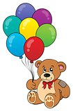 Party teddy bear theme image 1