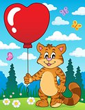 Valentine cat theme image 3