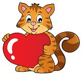 Valentine cat topic image 1