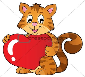 Valentine cat topic image 1