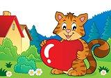 Valentine cat topic image 2