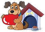Valentine dog theme image 3