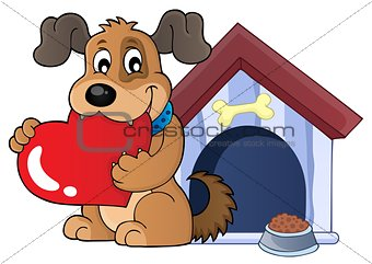 Valentine dog theme image 3