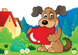 Valentine dog theme image 4