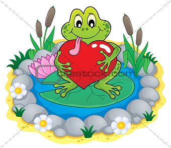 Valentine frog theme image 3