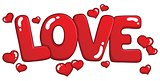Word love theme image 1