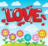 Word love theme image 2
