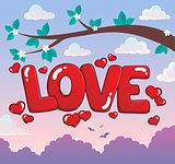 Word love theme image 3