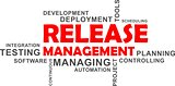 word cloud - release management