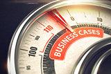 Business Cases - Business Mode Concept. 3D.