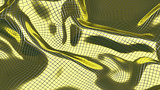 3D Illustration Abstract Golden Background