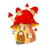 Mushroom house fabulous