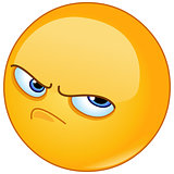 Pissed off emoticon