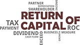 word cloud - return of capital