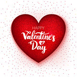 Happy Valentine Day Heart