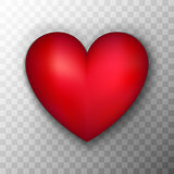 Red Heart Transparent Background