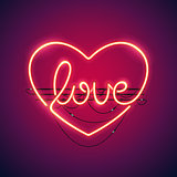 Love Heart Neon Sign
