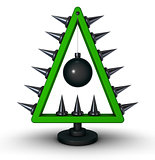 heavy metal christmas tree