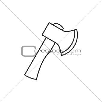 Axe outline icon