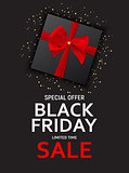 Black Friday Sale Banner Template. Vector Illustration