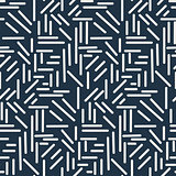 Dashes sticks seamless vector pattern.