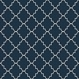 Quatrefoil seamless vector pattern.