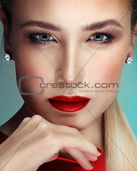 Fashion woman portrait