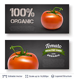 Tomato and text.