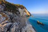 little beach near Agios Nikitas. Lefkada, Greece