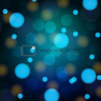 bokeh, blurred background