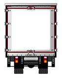 Rear Lorry Copy Space