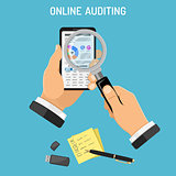 Online Auditing, Tax process, Accounting Concept