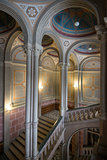 Chernivtsi university -  main staircase