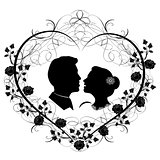 wedding silhouette 12