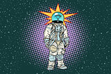 Astronaut head light bulb idea