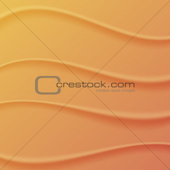 Background waves of sand, vector illustration.