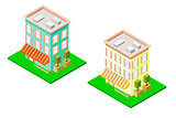 Isometric Hotel Set