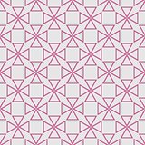 Tile vector pattern with pastel pink print on grey background