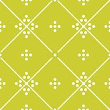 Tile green decorative floor tiles vector pattern