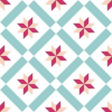 Tile decorative floor tiles vector pattern