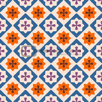 Tile decorative floor tiles vector pattern