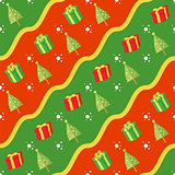 Seamless Christmas Gift Pattern